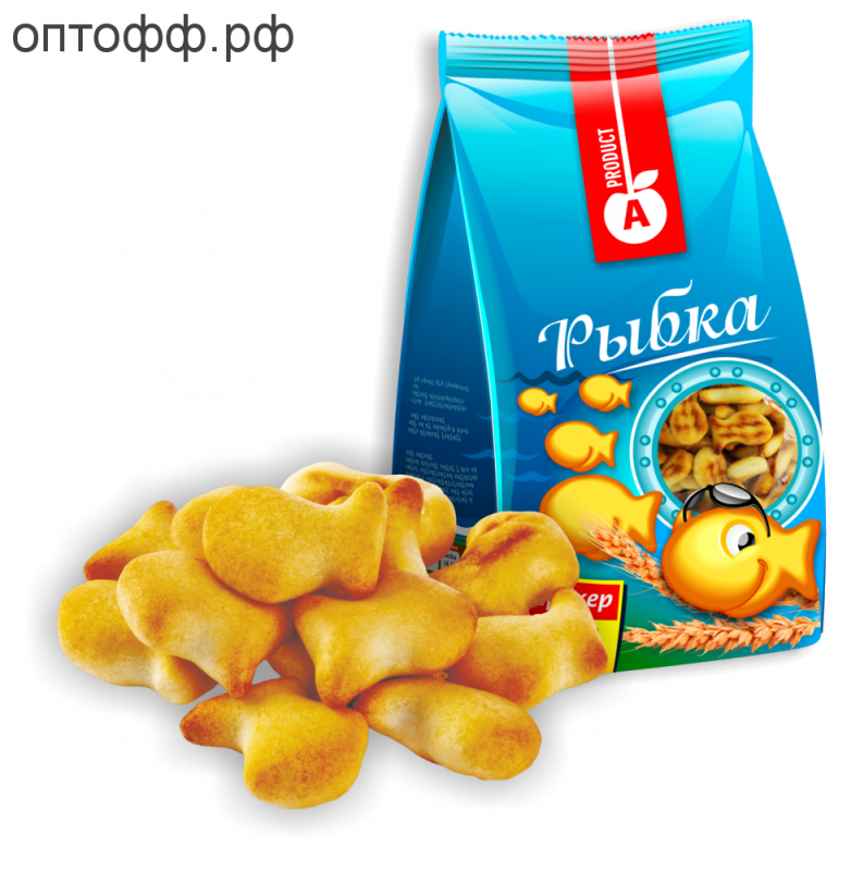 АП Печенье Крекер рыбка 300 гр.