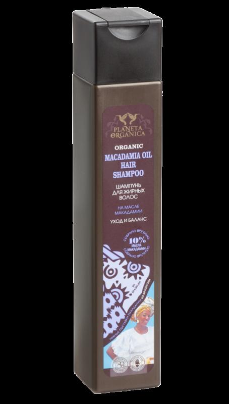"""PO"" шампунь для жирных волос macadamia oil 250 мл"