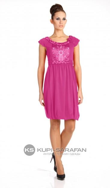 Платье Модная страна 105-Р бирюза