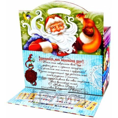 Новогодний подарок Письмо ДМ (картон, 500 г)