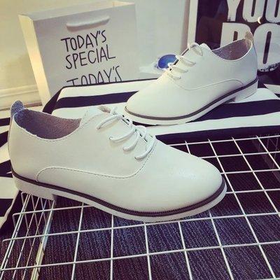 круглые белые туфли