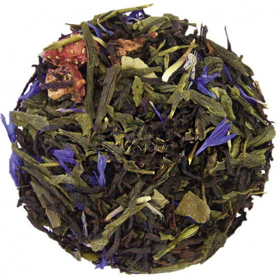 Зеленый ароматизированный чай с лемонграссом 250 г