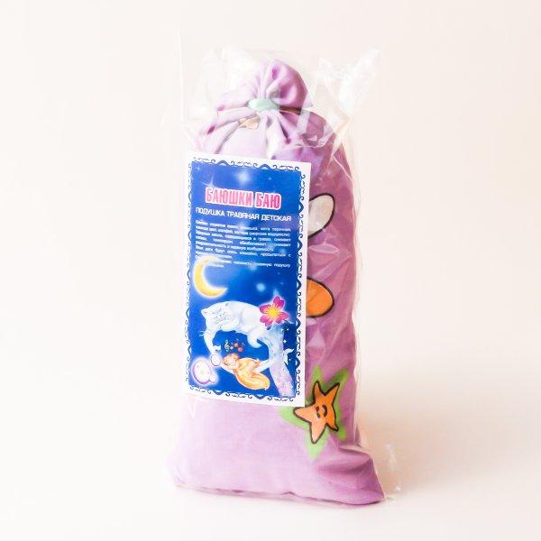 Травяная подушка Баюшки-баю (детская для сна) 10*20 см