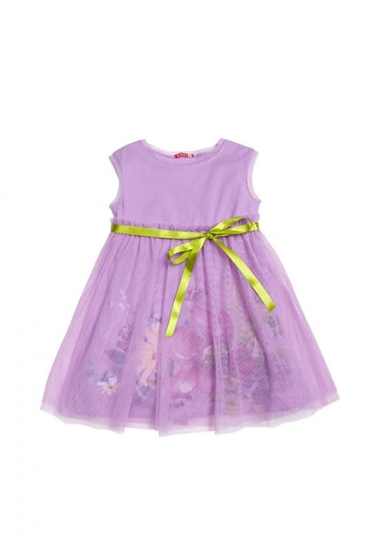 GDT393 платье для девочек (5, Лаванда-lavender)