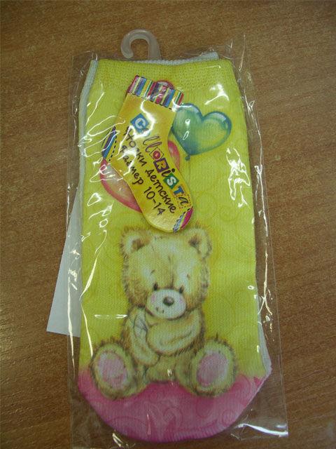 носки Collorista Мишка с шариками размерный ряд 1 год