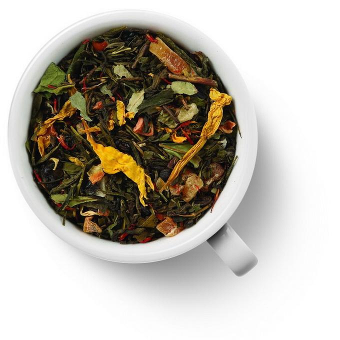 85001 Чай Gutenberg зеленый ароматизированный Бенгальский Тигр 250 г