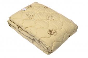 """Одеяло Medium Soft """"Комфорт"""" Camel Wool (верблюжья шерсть)двухспальное 172х205"""