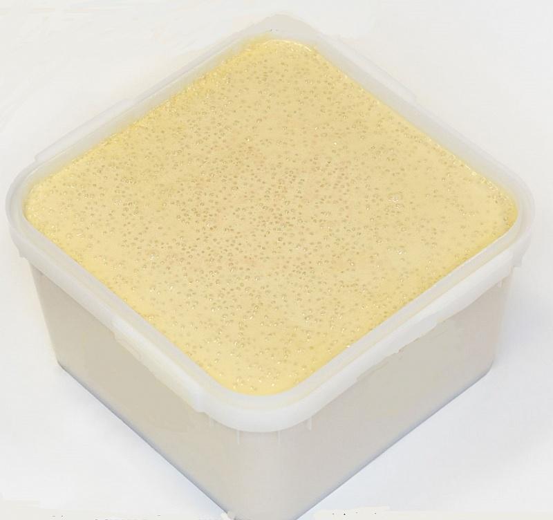 С воздушным рисом крем-мёд