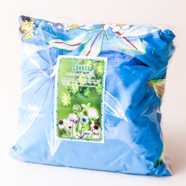 Травяная подушка Сонная 25*25 см