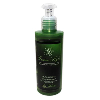 Green Style Гель-Пенка Увлажняющая для глубокого очищения лица 200 г
