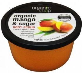 Скраб для тела кенийский манго, Organic shop