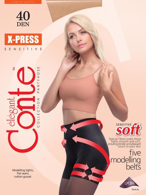 Колготки жен. X-PRESS 40 (р-ры 2-4)
