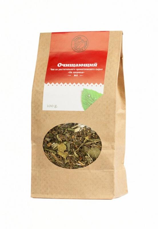 """Травяной чай Здоровье """"Очищающий"""" 100 г"""