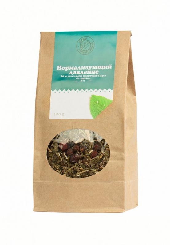 """Травяной чай Здоровье """"Нормализующий давление"""" 100 г"""