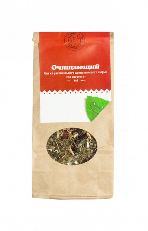 """Травяной чай Здоровье """"Очищающий"""" 50 г"""