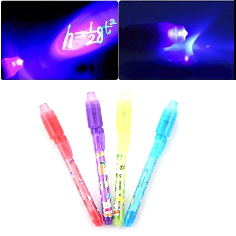 Ручка Invisible Pen с невидимыми чернилами и ультрафиолетовым фонариком