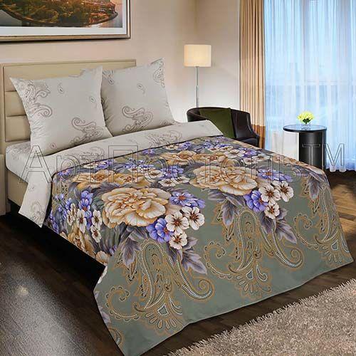 Золотая вышивка 2х спальный поплин
