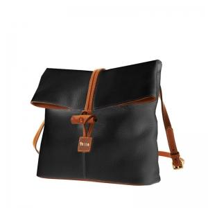 сумка 9809-Black ХИТ в стиле  Dooney & Bourke