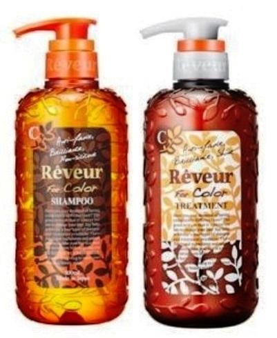 """703364 JAPAN GATEWAY """"Reveur For Color"""" ПРОБНЫЙ НАБОР-САШЕ для окрашенных волос: шампунь, 10 мл+кондиционер, 10 мл"""