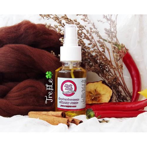 Жидкая маска для ухода за волосами Энергия роста (масло жожоба, авокадо, экстракт жгучего перца) бальзам для волос