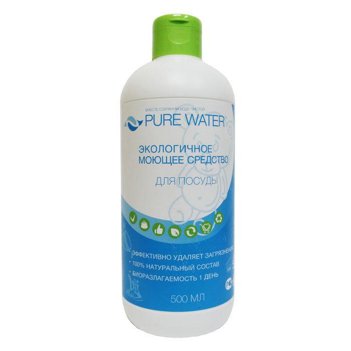 Средство для посуды Pure Water, гипоаллергенное 500 мл
