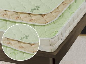 """511 Наматрасник Premium Soft \""""Стандарт\"""" Bamboo (бамбуковое волокно, на резинке) 160*200"""