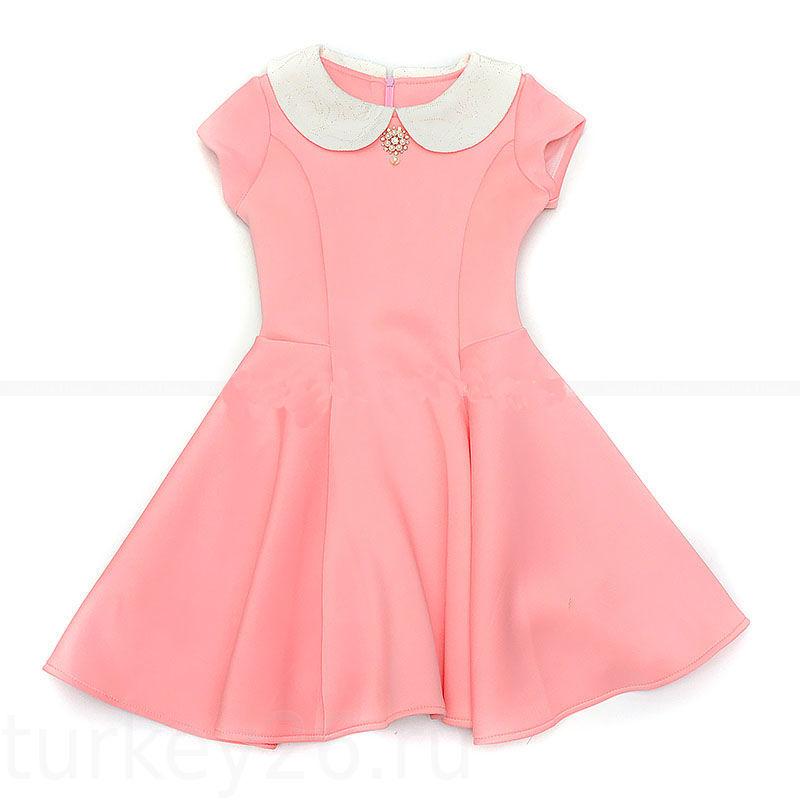 Платье А@S kids размерный ряд 134,140,146,152.158см персиковый