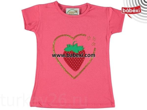 футболка Gorkem kids размерный ряд 86.98.110.122. cм малиновый