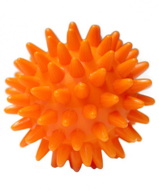 Мяч массажный GB-601 6 см, оранжевый