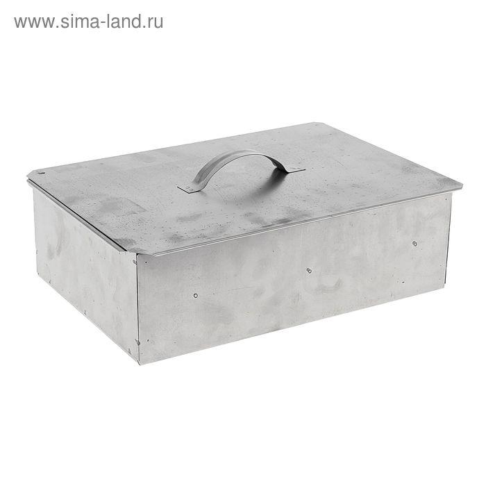 Коптильня одноярусная, размер 385 x 280 x 145 мм