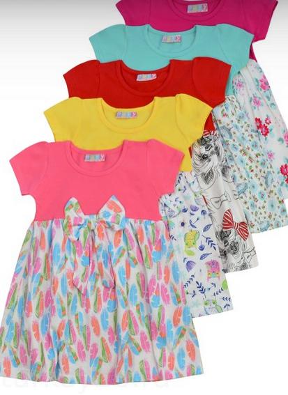 платье Paty Girls размерный ряд 86.98.110.122,134 см цвет желтый