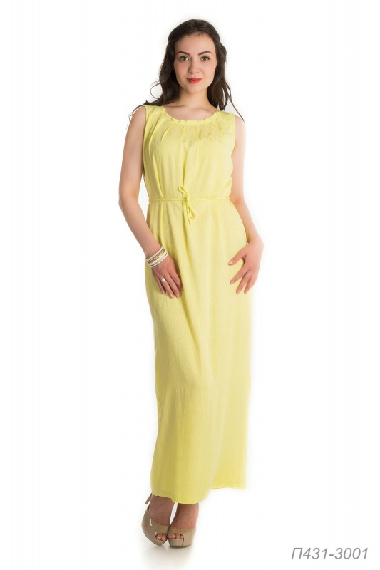 Платье 431 вискоза жаккард лимонная Брусника