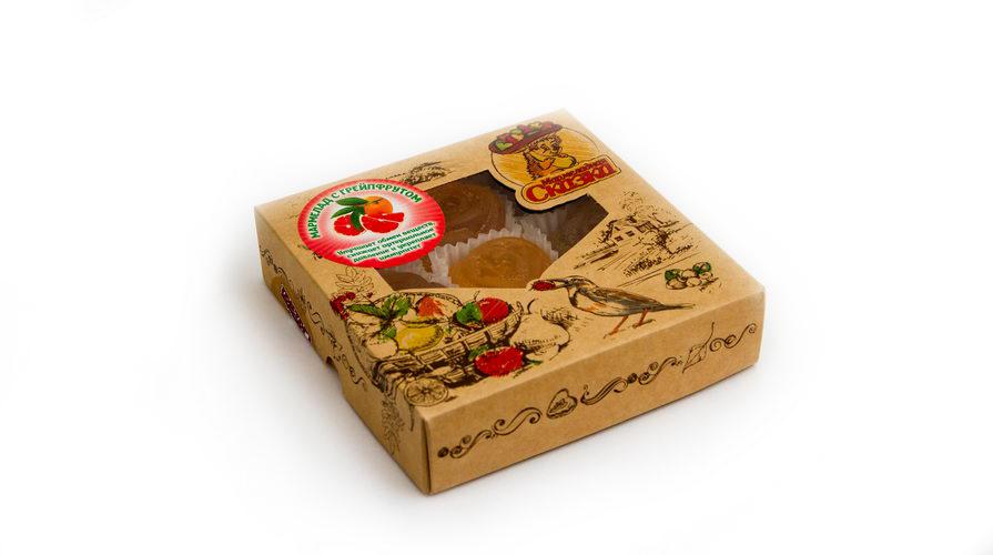 Мармелад желейный формовой «С грейпфрутом» (300гр)