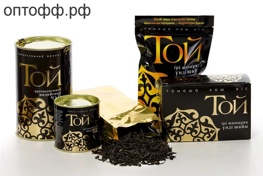 Чай Той 100гр. крупно-лист.Индия(зип-пак.)