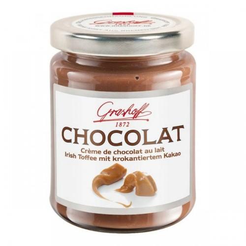 Молочный шоколадный крем с ириской и какао, 250 гр.