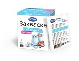 Закваска «Йогурт VIVO с лактулозой» (4*0,5 г)