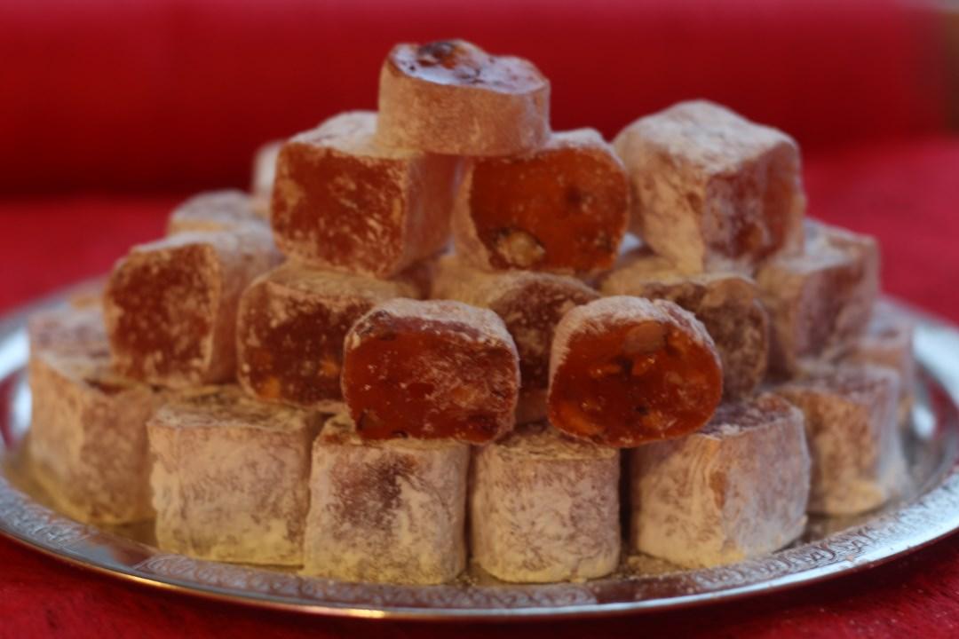 Лукум халебский с ароматом апельсина и фундуком 1 кг