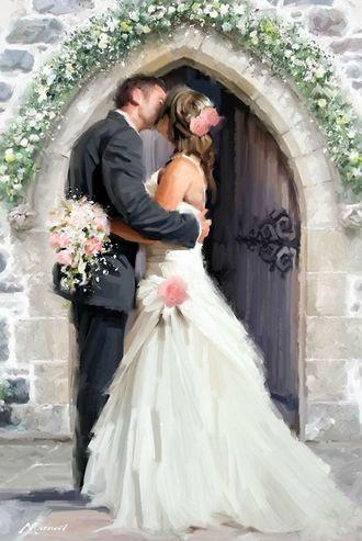 G160 Свадьба худ. Ричард Макнейл