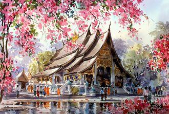 GX3259 Тайланд худ.Танакорн Чайджинда