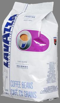 Кофе LAVAZZA ESPRESSO VENDING Gusto Forte 1 кг (зерно, 100% Робуста, темная обжарка)