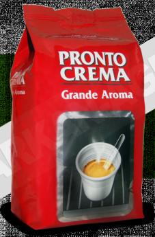 Кофе LAVAZZA PRONTO CREMA Grande Aroma 1 кг (зерно, 100% Арабика, средняя обжарка)