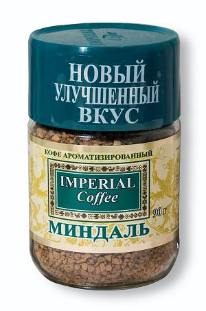 """Кофе """"Миндаль"""" 95 г растворимый"""