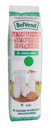 Специальное агломерированное молоко 26% BelVend 500 г