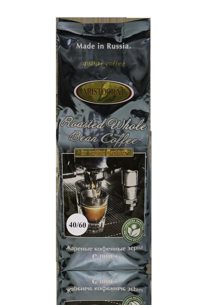ARISTOCRAT Coffee VENDING BLEND 40/60 (60% Арабики и 40% Робусты), зерно, средняя обжарка 500 г