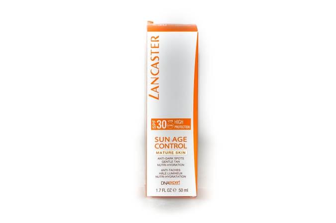 Lancaster Sun Age Control Средство 50мл Восстанавливающее солнцезащитное против пигметных пятен для зрелой кожи SPF30