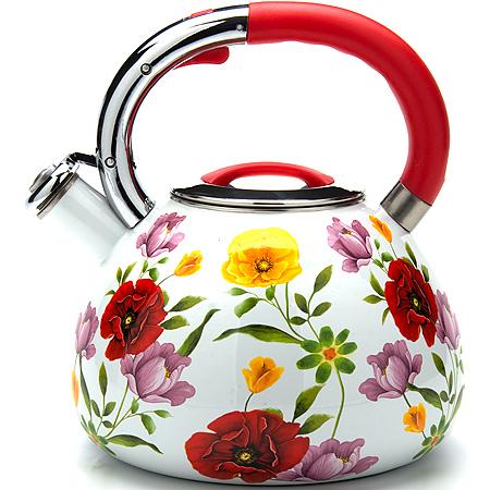 Чайник эмалированный Mayer&Boch MB-23853, 3.5л, свисток