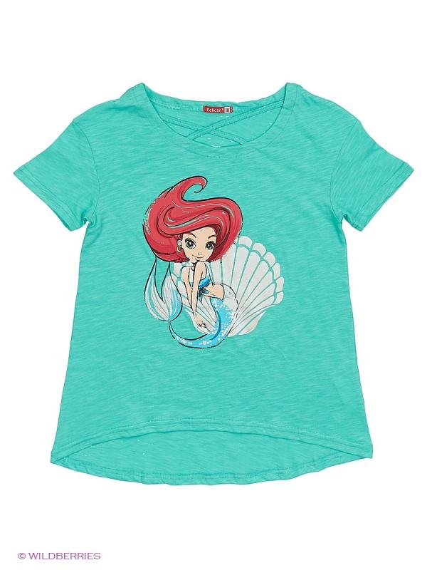 """GTR594 джемпер (модель \""""футболка\"""") для девочек"""