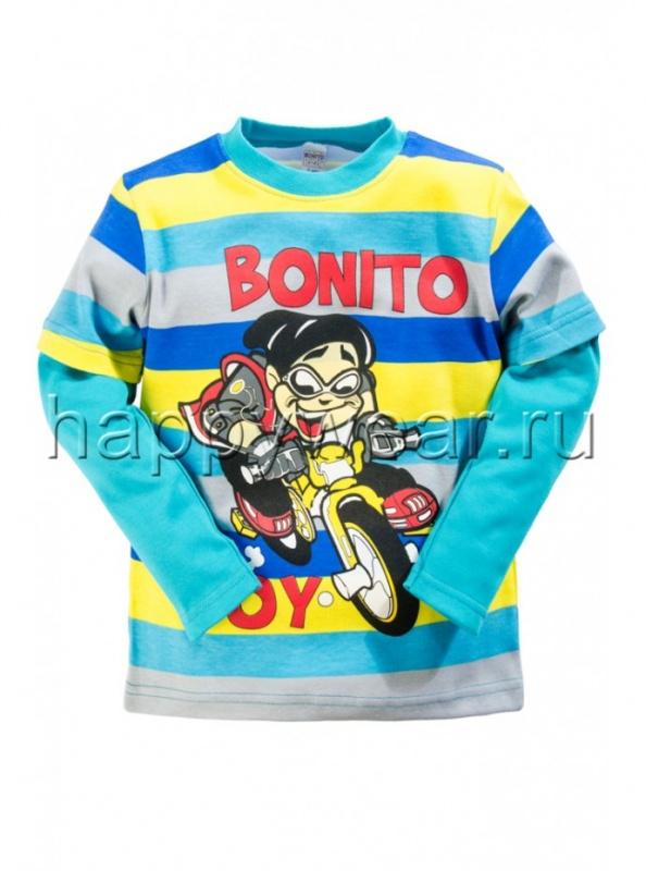 Лонгслив для мальчика Bonito