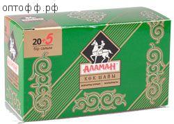 Чай Аламан в/с зелен с жасм. 25 пак