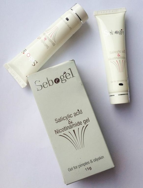 Sebogel. Гель с салициловой кислотой Для жирной кожи и от угревой сыпи